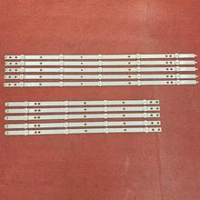 10 Stks/set Led Backlight Strip Voor 50PUS6162/12 50PUS6703 50PUS6753 50PUS7383/12 50PUS6523/12 50PUS6503 LB50086 LB50082 LB50089