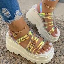 Summer Wedges Women Sandals 2020 Fashion Platform Gladiator