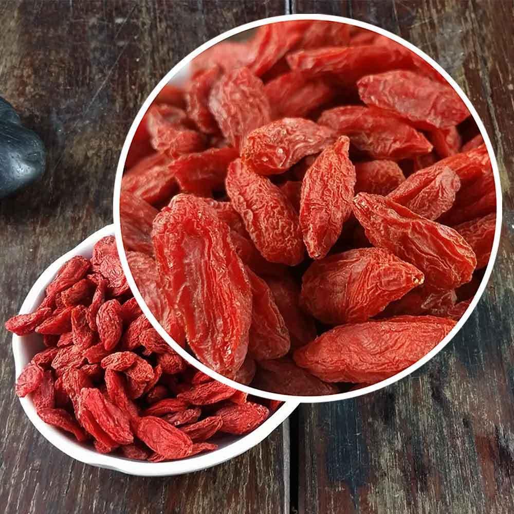 2020 Herbal Tea New Dried Goji Berries Bulk Organic Wolfberry Gouqi Berry Chinese Herbal Gift Tea