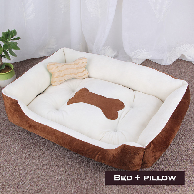 Bone Pet Bed Warm Pet Products For Small Medium Large Dog Soft Pet Bed 3
