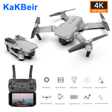 RC Drone 4k HD Camera Wifi fpv E88 foldable Quadcopter Switchable Long time Fixed height Selfie professional dron Toys for boys