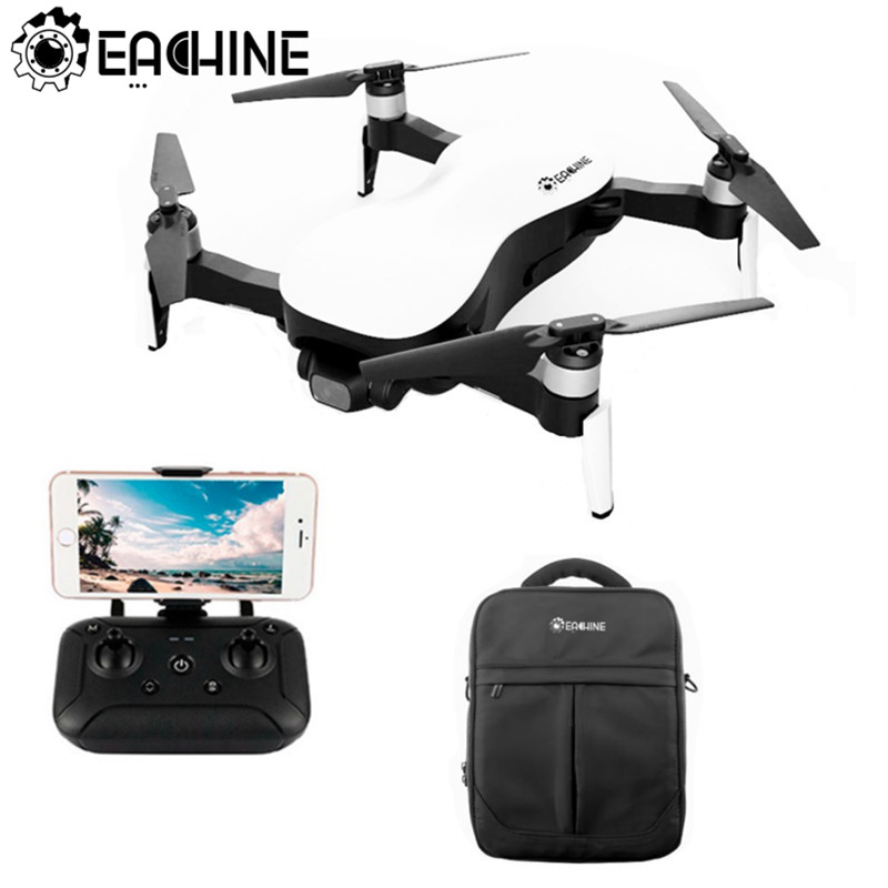 Eachine GPS Quadcopter Flight-Time Rc Drone RTF Stable-Gimbal 4khd-Camera 3-Axis FPV