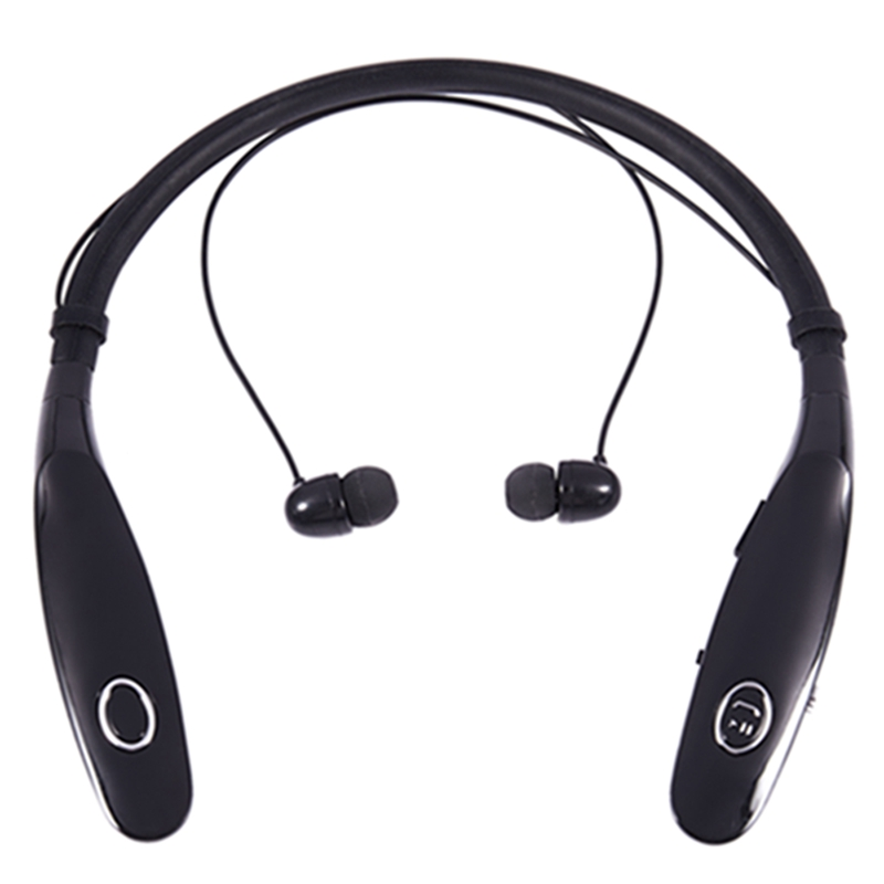 Bluetooth Headphones 14Hr Working Time, Truck Driver Bluetooth Headset, Wireless Magnetic Neckband Earphones, Noise Cancelling E