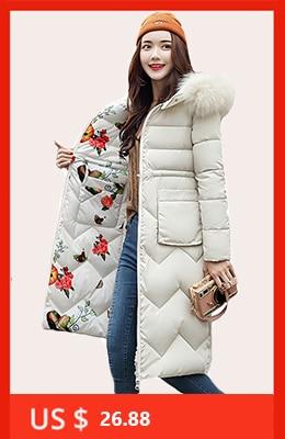 H20ddc9373c11422daad448213e091e948 2019 women winter hooded warm coat slim plus size candy color cotton padded basic jacket female medium-long  jaqueta feminina