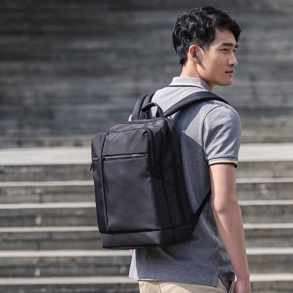 Xiaomi Mi Backpack Classic Business Backpacks 17L Capacity Students Laptop Bag waterproof Men Women Bags For 15.6 inch computer image