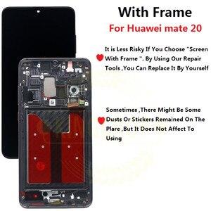 Image 2 - Para huawei companheiro 20 display lcd de toque digitador da tela substituição para huawei companheiro 20 x para huawei mate20 HMA AL00 lcd com quadro