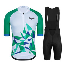 Raphaful 2021 Pro Team Mens Cycling Jersey Bike Cycling Clothing Suits Ropa Ciclismo Jerseys Bicycle Wear Clothes Bib Shorts Set