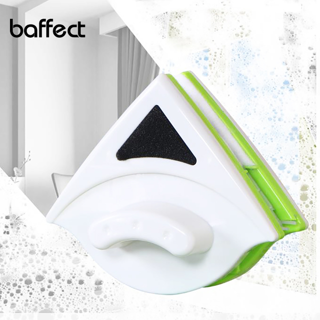 Baffect Double Side Glass Cleaning Brush Magnetic Window Cleaner Magnets Household Glass Wiper Cleaning Tools for Washing Window