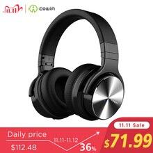 Cowin E7Pro نشط إلغاء الضوضاء سماعات بلوتوث لاسلكية فوق الأذن سماعة ستيريو مع ميكروفون للهاتف