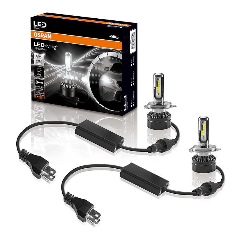 OSRAM Car Headlight H11 H1 H4 H7 LED bulb HB4 HB3 9005 9006 turbo led headlight car lamp 12v 19W 6000K Increase brightness 50%
