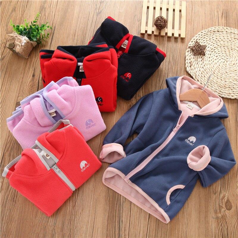 2019 New Spring Autumn Baby Boys Girls Clothes Zipper Hooded Sweatshirt Teens Children's Kids Casual Sportswear Infant Clothing