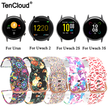Replacement Strap For Umidigi Urun S Band Bracelet For Umidigi Uwatch 3S/2S Wristband Silicone Colorful Loop Watch Accessories