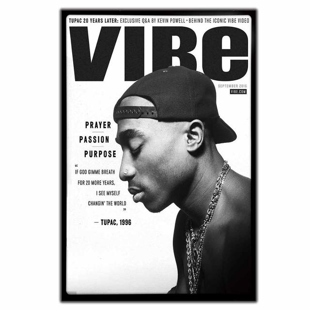 Details about  /H846 Tupac Shakur 2Pac Hip Hop Star Pop Art Deco Poster Wall Fabric