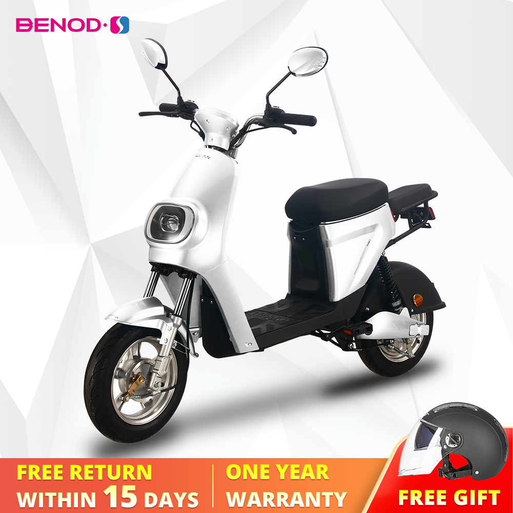 BENOD Electric Motorcycle For Powerful Adult 25km/h Lithium Battery Electric Motorcycle Electric Scooter Motor Moped Ebicycle