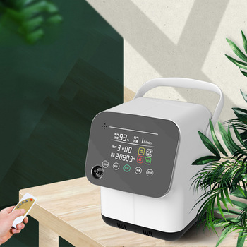 1-6L Adjustable Oxygen Oxygen Making Machine Household Portable Oxygen Concentrator Pregnan Elderly Oxygen Machine xgreeo battery operated genuine portable oxygen concentrator home travel with car recharger oxygen tank