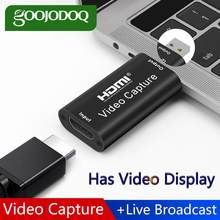 Mini Video Capture Card USB 2.0 HDMI Video Grabber Record Box for PS4 Game DVD Camcorder HD Camera Recording Live Streaming(China)
