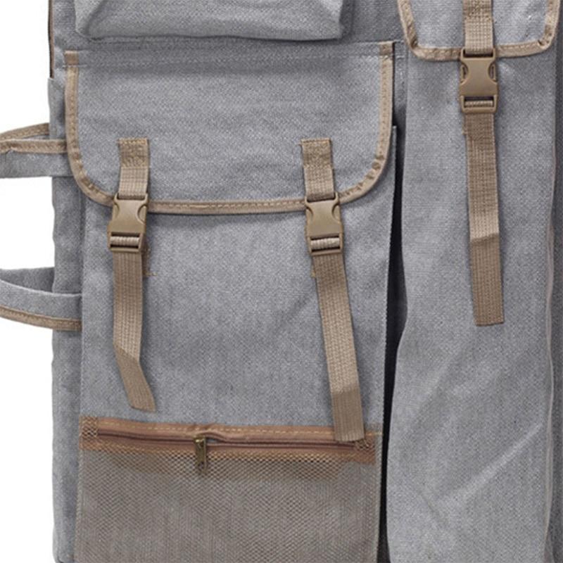 Image 2 - Art Portfolio Bag Case Backpack Drawing Board Shoulder Bag with Zipper Shoulder Straps for Artist Painter Students Artwork-in Art Sets from Office & School Supplies