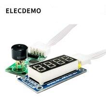 MLX90614 Temperatuur Acquisitie Sensor Non contact Infrarood Temperatuurmeting Module Digitale Display Directe Weergave