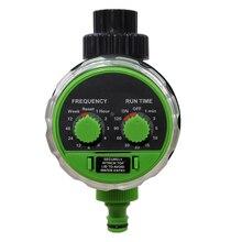 Новое поступление Yardeen электронный водяной шланг таймер садовый шаровой клапан контроллер полива два набора цвета зеленый