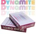 54 шт./компл. K-POP Bangtan Boys Lomo Card плакат новый альбом DYNAMITE фотокарты настенный баннер фото