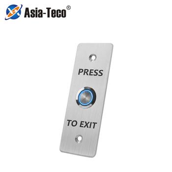 Przycisk wyjścia kontroli dostępu przełącznik wciskany przyciski otwierania drzwi otwarte elektroniczne zamknięcie do bramy ze światłem tanie i dobre opinie LUCKING DOOR CN (pochodzenie) 115*83*40mm S840L