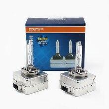 D1C D1R D1S HID Xenonไฟหน้าหลอดไฟ4300K 5000K 6000K 8000K 10000K D1S Xenon HIDหลอดไฟสำหรับรถยนต์ไฟซีนอนไฟหน้า