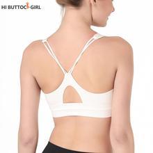 Vest women Wind sports bra style double-sided nylon running fitness beautiful back shockproof yoga bra female