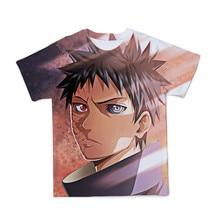 Naruto 3D Mannen T-shirt Fashion Japanse Anime T-shirt Cartoon Casual Mannen Mode Streetwear Mannelijke Hip Hop Paar T-shirt