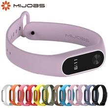 Ремешок для mi band 2 аксессуары для браслетов Pulseira mi band сменный силиконовый ремешок на запястье смарт-браслет для Xiaomi mi 2 ремешка