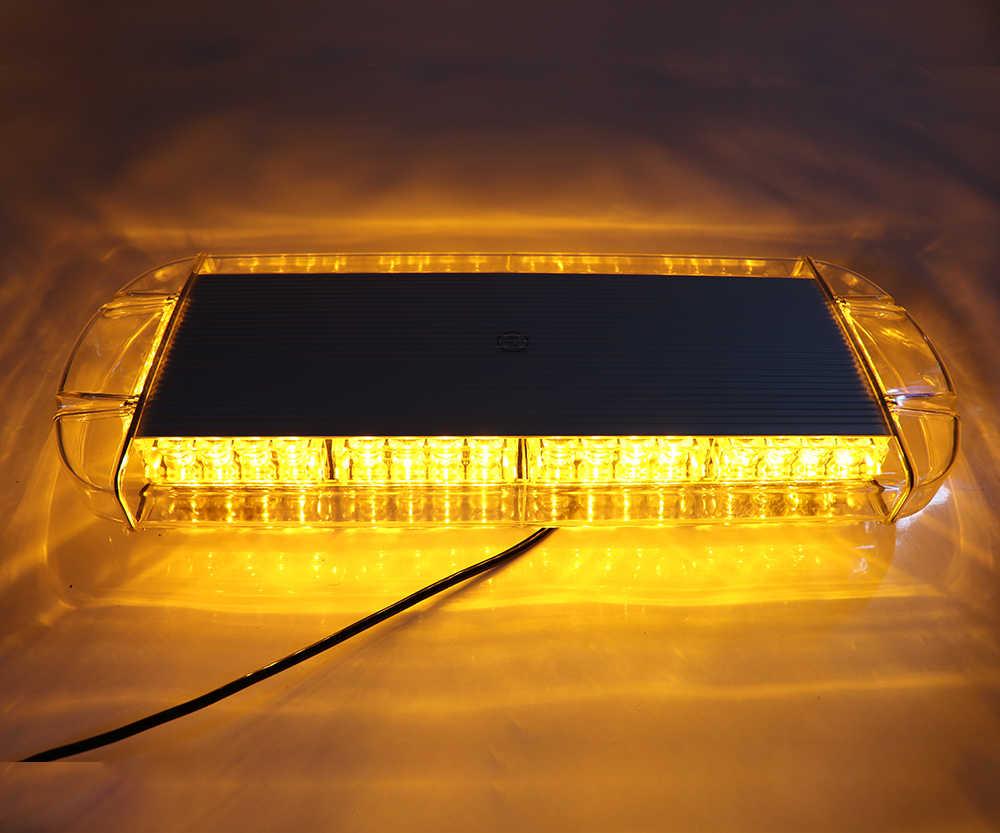 "12 V/24 V 22 ""40 LED 40W coche camión remolque techo superior emergencia intermitente advertencia de peligro luz estroboscópica lámpara"