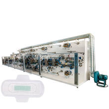 Full Automatic Full Servo China Made Always Sanitary Pads Making Machine Equipment Comfortable and Breathable Sanitary Napkin