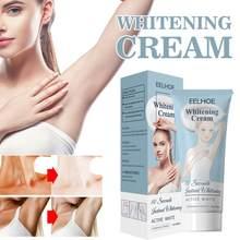 Crema para cara y cuerpo Crema para blanquear las axilas, loción corporal hidratante blanqueadora de la piel, TSLM1