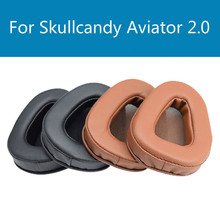 Headset replacement Foam Cusion for Skullcandy Aviator 2.0 earpads Soft Protein Sponge Cover Comfortable