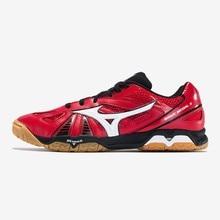 Подлинная Mizuno волна медаль 5 6 настольного тенниса обувь для сборной подушки стабильная Спортивная обувь дышащая кроссовки
