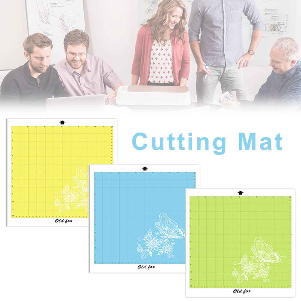 Replacement Cutting Mat Transparent Adhesive Mat Pad With Measuring Grid For Silhouette Cameo Plotter Machine