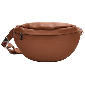 Fashion Waist Bag Solid Color PU leather Metal Button Chain Saddle Bag Fanny Pack Bananka Women Wild Satchel Belly Band Belt Bag fashion waist bag solid color pu leather metal button chain saddle bag fanny pack bananka women wild satchel belly band belt bag