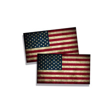 Hot Interesting Rustic USA Flag Cover Scratches Car Sticker and Decals Sunscreen Decoration Bumper Car Body KK 13*7cm