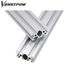 Piezas de impresora 3D CNC perfil de aluminio 2040 guía de riel estándar europeo perfil de aluminio anodizado extrusión 2040 2040 pieza cnc