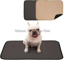 Многоразовые подгузники для собак, впитывающий мочу коврик, водопоглощающий подгузник, спальная кровать для маленьких собак, Тренировочный Коврик для щенков