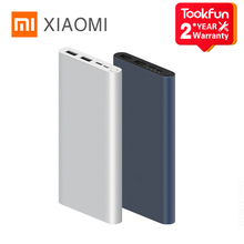 New Xiaomi Power Bank 3 10000mAh 18W Quick Charge Dual Input Output Two-Way Quick LED Battery Indicator Portable High-Capacity