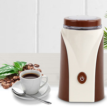 Electric Coffee Grinder Grains Automatic Mill Bean Powder Grinding Machine Home Travel Use