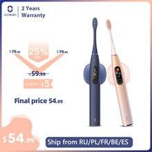 Oclean – brosse à dents électrique sonique X Pro, avec écran tactile IPX7, étanche, 3 Modes de brossage, pour adulte, charge rapide