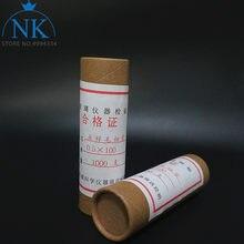 Verre tacheté/repérage ouvert des deux côtés, capillaire, diamètre 1000mm/0.1mm/0.3mm/0.4mm, longueur 0.5mm/100mm, 200 pièces/lot