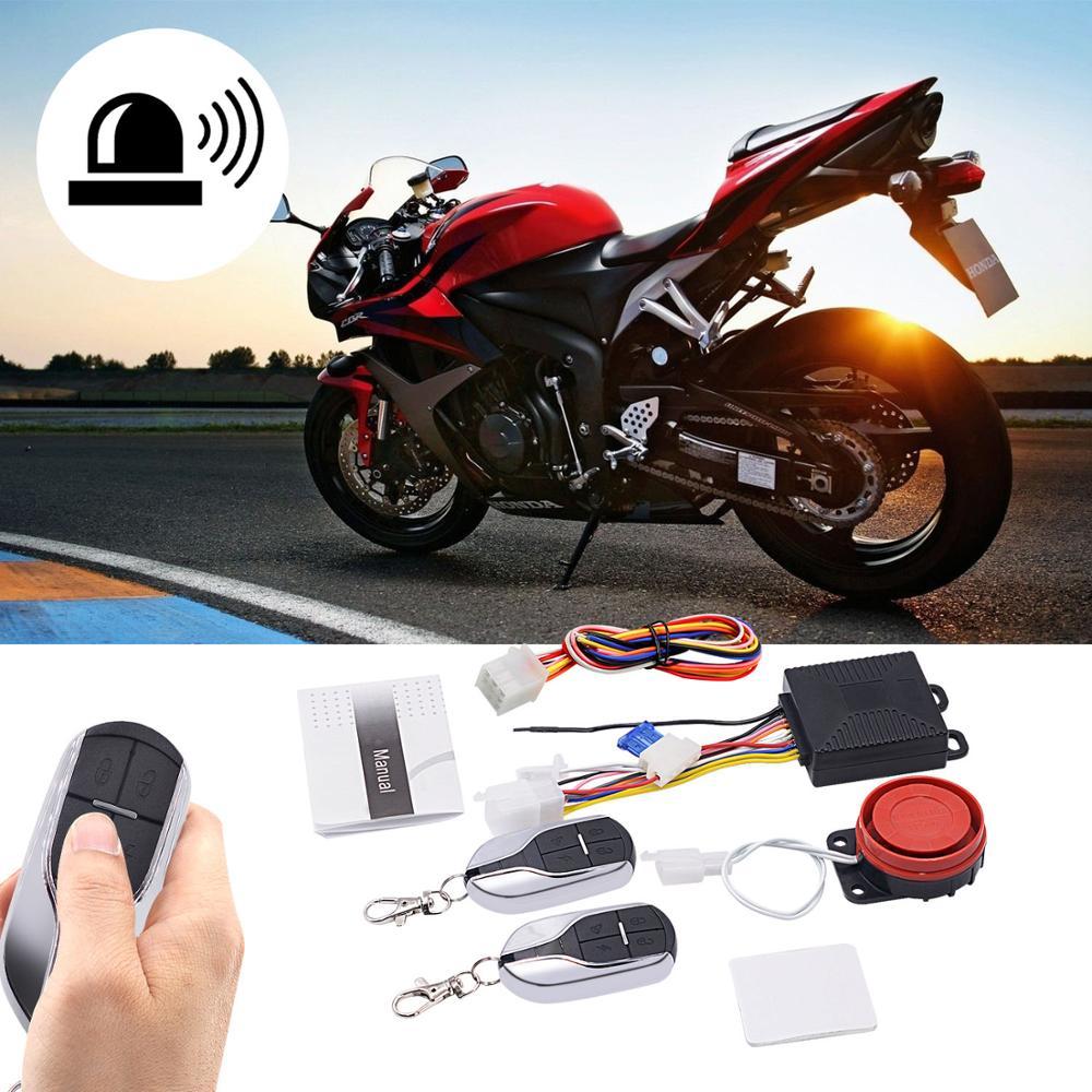 Купить сигнализация противоугонная для мотоцикла 12 в 2 брелка управления