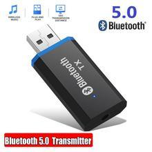 Transmitter Bluetooth Adapter Headphone-Speaker Jack Aux-Stereo USB Audio for Portable