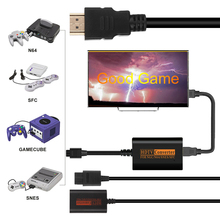 HDMI Durable Converter Upgraded Signal Gamepad Converter Gamecube Console 720P Retro Video Game Console High Definition Cable