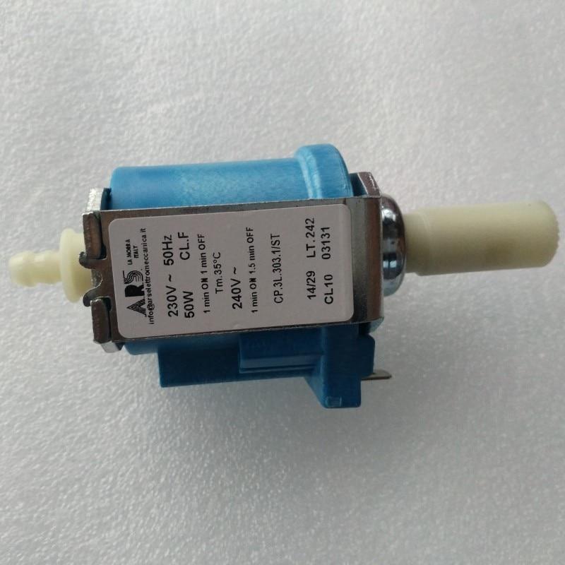 1pcs For ARS AC230-240V 50W Solenoid Pump Water Pump for Coffee Espresso Machine