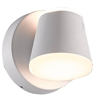 Lampara de pared aplique LED 3000K IP65 orientable Blanco 7.5W