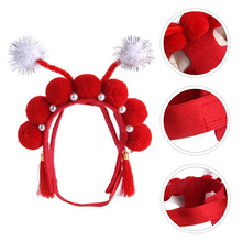 Lovely Pet Headpiece Pet Costume Accessories Creative Pet Masquerade Headdress
