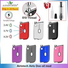 Vape Mod E-Cigarette-Mod Thread Vaporizer-Kit AIRIS Portable Original Doo Oil 450mah